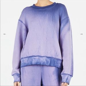 New Cotton Citizen The Brooklyn sweatshirt purple